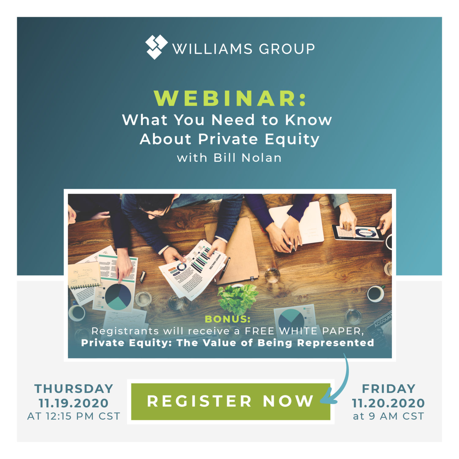 Private equity discussion